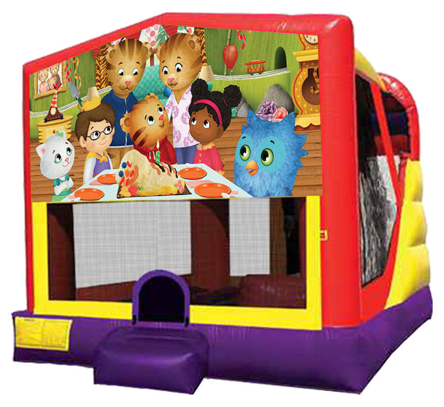 Daniel Tiger's Neighborhood 4-in-1 Combo rentals in Austin Texas by Austin Bounce House Rentals