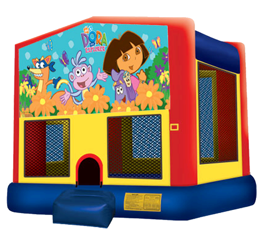 Dora Bounce House Rentals in Austin Texas from Austin Bounce House Rentals