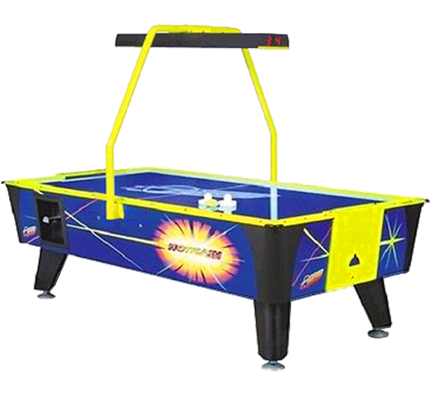 Dynamo Air Hockey Table for parties in Austin Texas from Austin Bounce House Rentals
