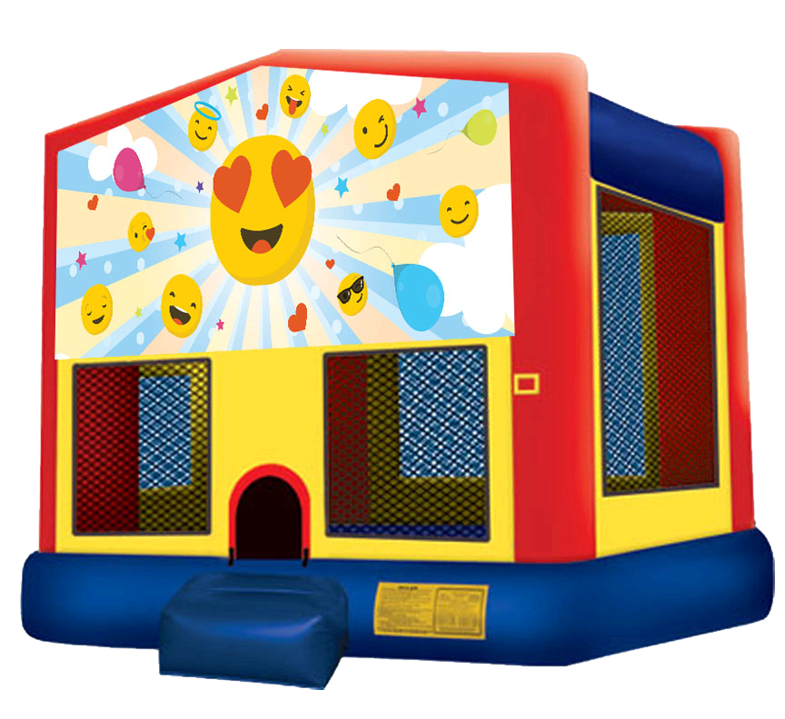 Emoji Bounce House Rentals in Austin Texas from Austin Bounce House Rentals