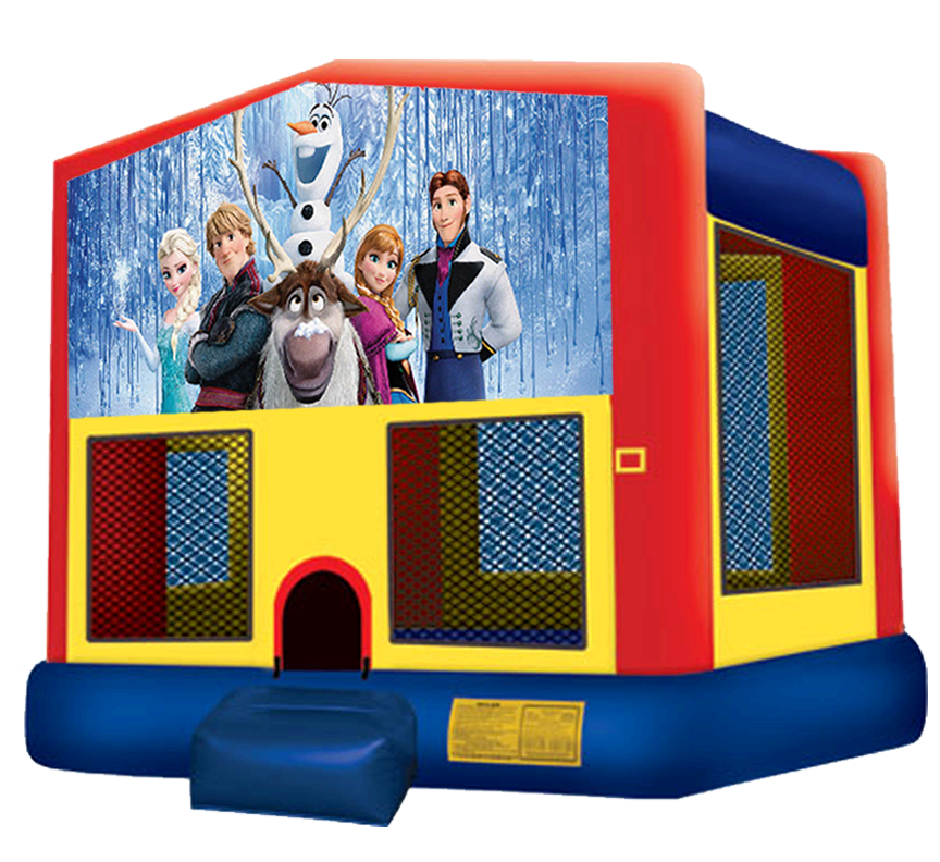 Frozen Bounce House Rentals in Austin Texas from Austin Bounce House Rentals