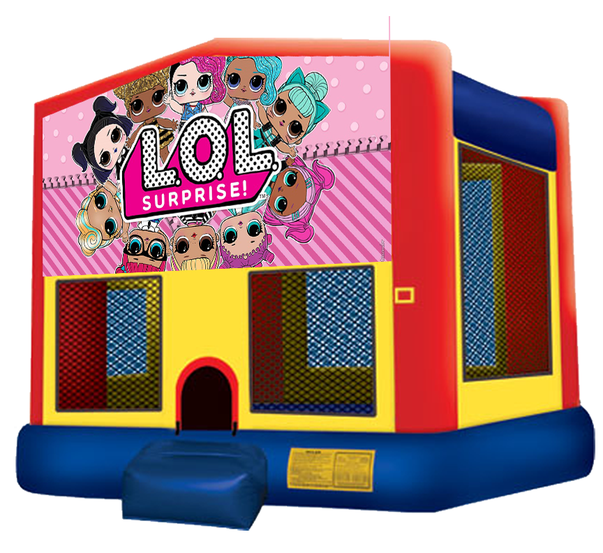 LOL Surprise Bounce House rentals in Austin Texas from Austin Bounce House Rentals