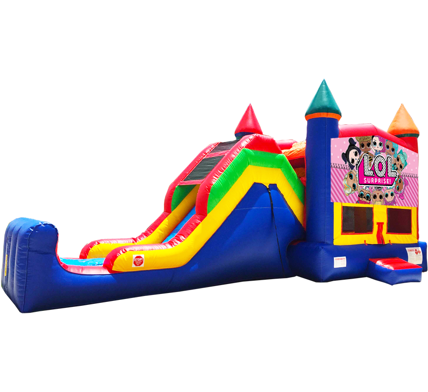 LOL Surprise Super Combo 5-in-1 rentals in Austin Texas from Austin Bounce House Rentals