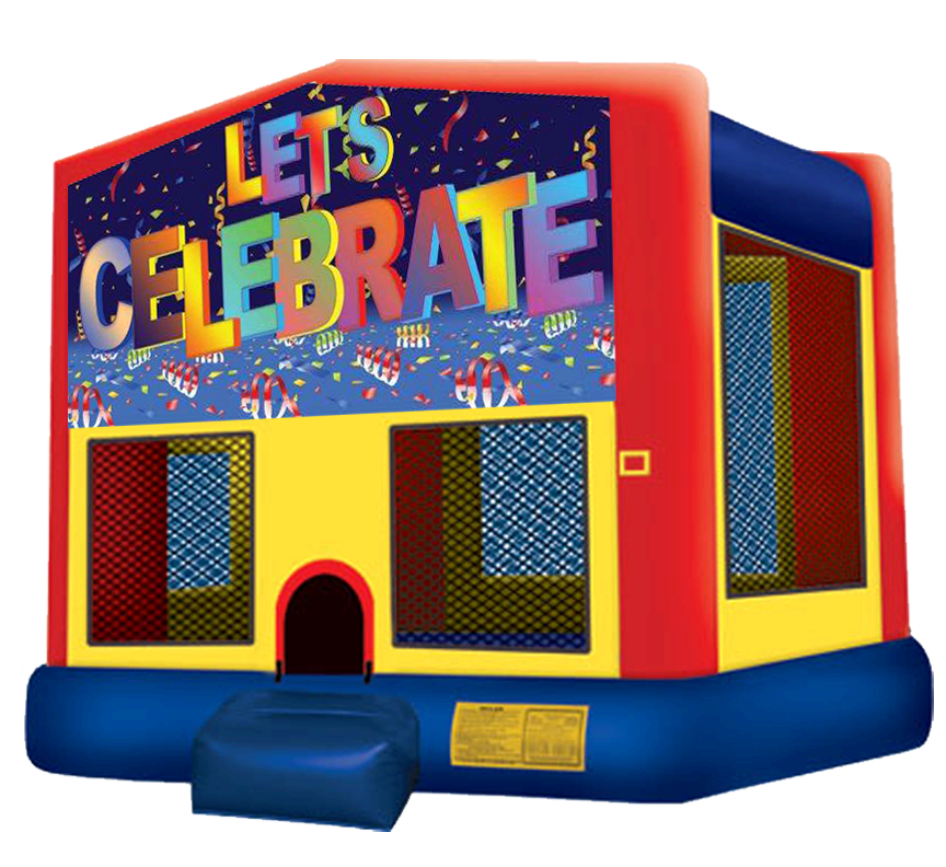 Let's Celebrate Bounce House Rentals in Austin Texas from Austin Bounce House Rentals
