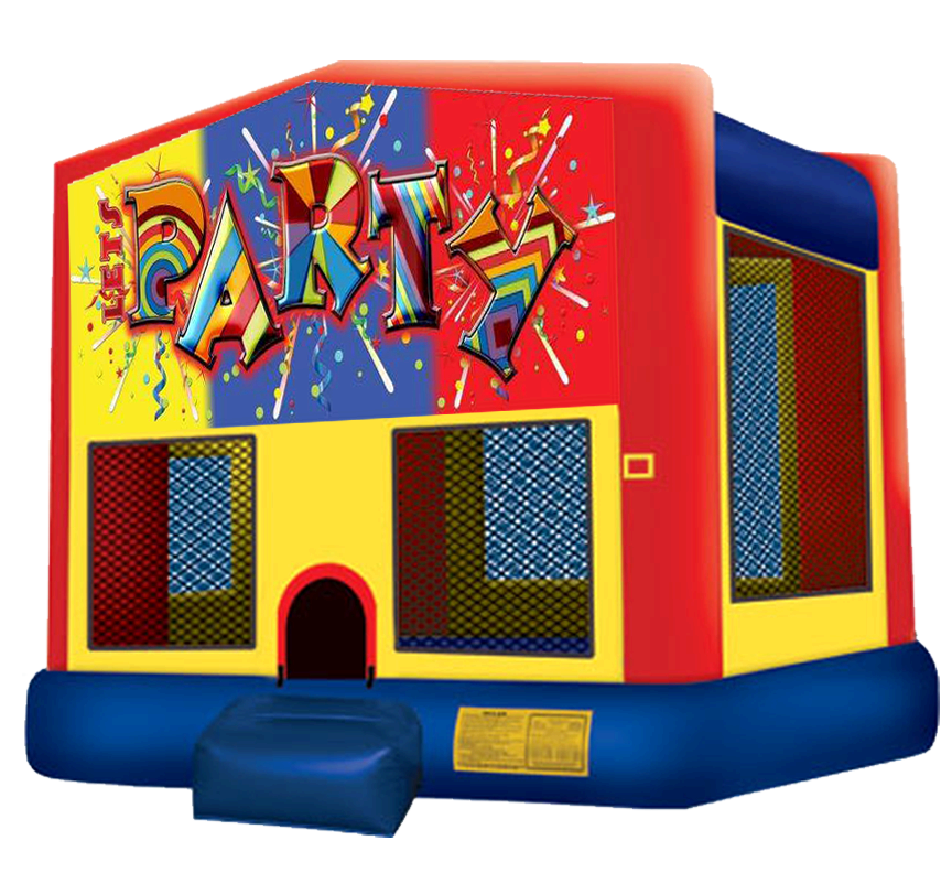 Let's Party Bounce House Rentals in Austin Texas from Austin Bounce House Rentals