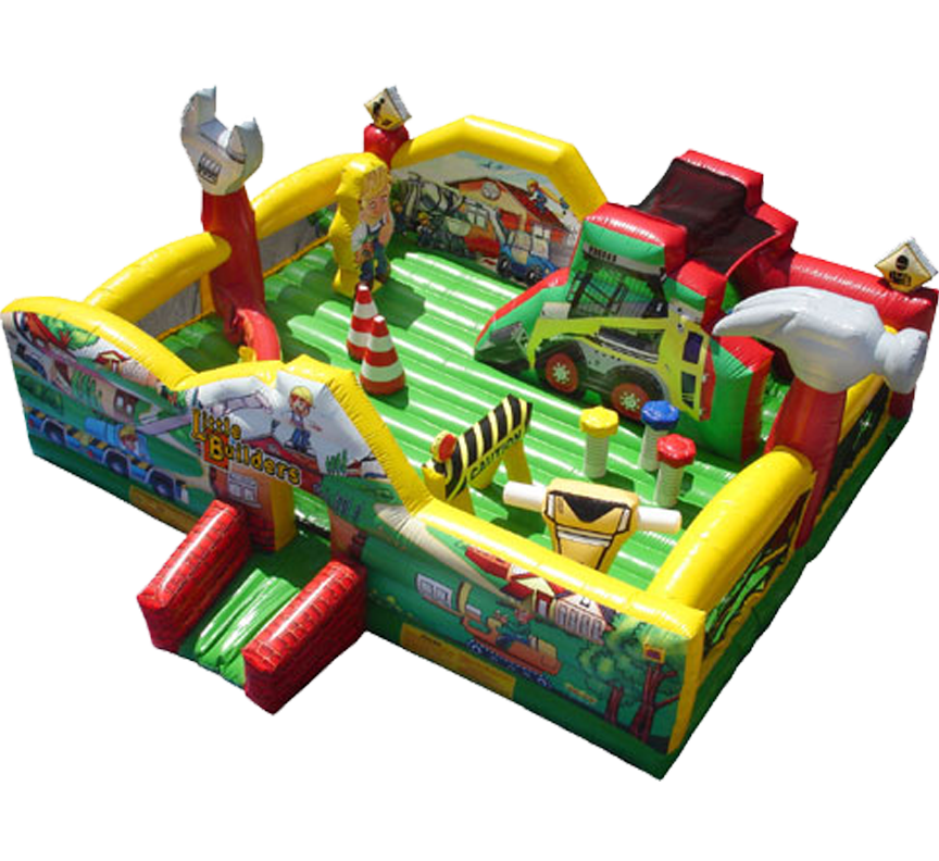 Little Builders Toddler Playland rentals in Austin Texas from Austin Bounce House Rentals 512-765-6071