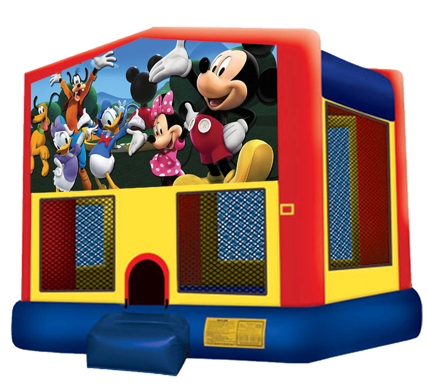 Mickey Mouse Bounce House Rentals in Austin Texas from Austin Bounce House Rentals