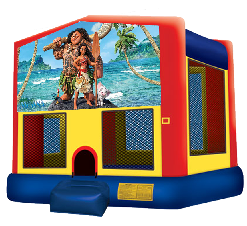 Moana Bounce House Rentals in Austin Texas from Austin Bounce House Rentals