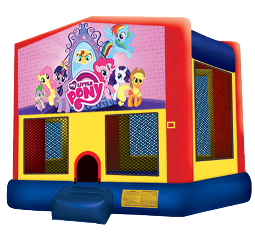 My Little Pony Bounce House Rentals in Austin Texas from Austin Bounce House Rentals