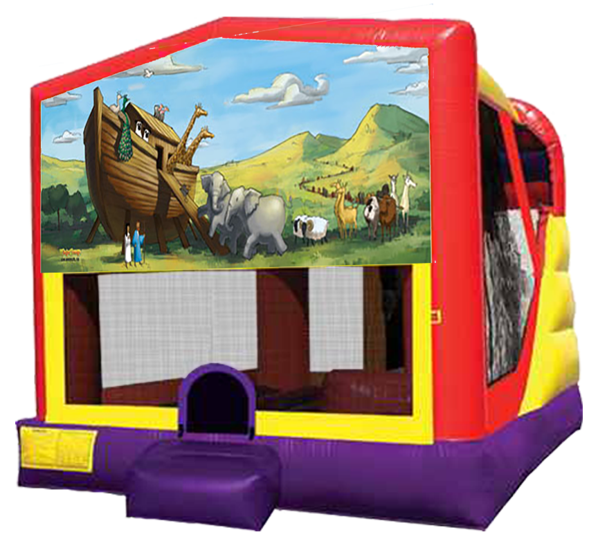 Noah's Ark Bounce-Slide Combo Rental in Austin Texas from Austin Bounce House Rentals
