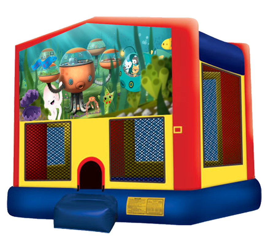 Octonauts bounce house rental in Austin Texas by Austin Bounce House Rentals
