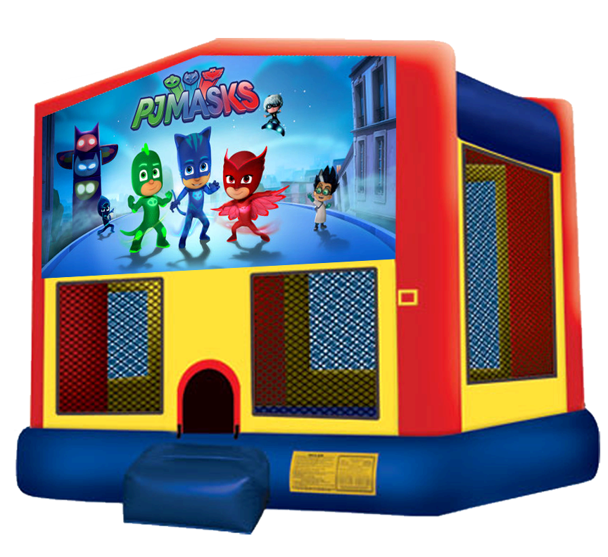 PJ Masks Bounce House Rentals in Austin Texas from Austin Bounce House Rentals