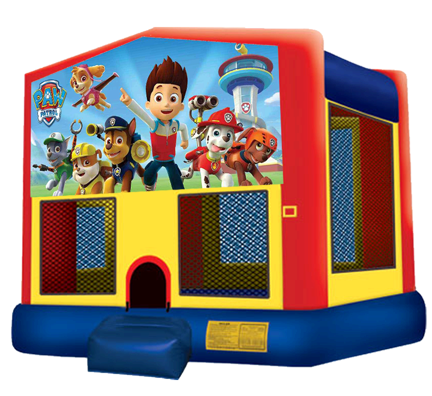 Paw Patrol Bounce House Rentals in Austin Texas from Austin Bounce House Rentals
