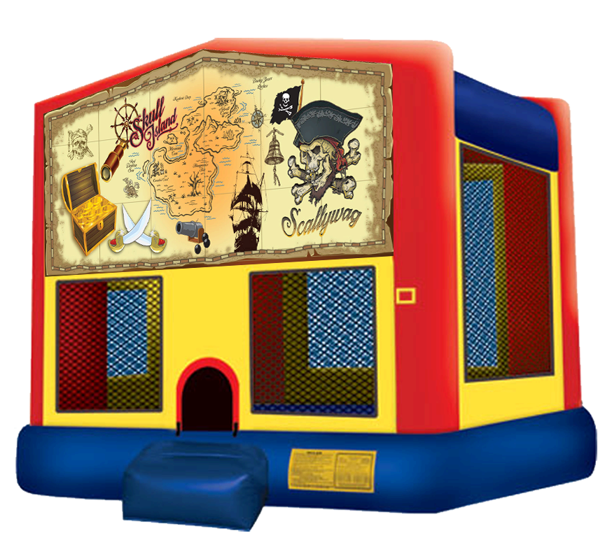 Pirate Bounce House Rentals in Austin Texas from Austin Bounce House Rentals