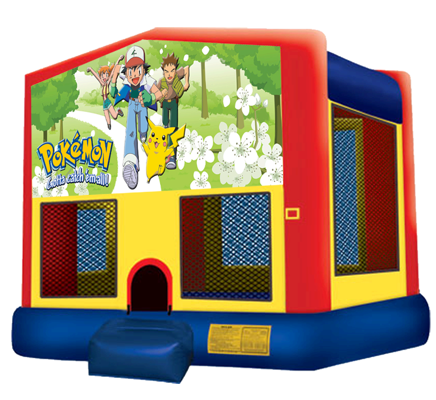 Pokemon Bounce House Rentals in Austin Texas from Austin Bounce House Rentals