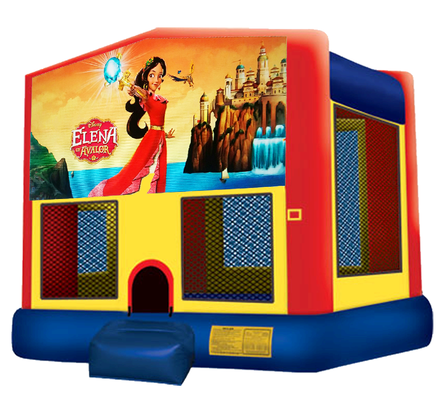 Princess Elena Bounce House Rentals in Austin Texas from Austin Bounce House Rentals