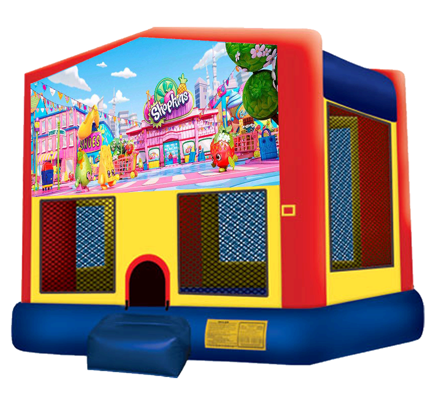 Shopkins Bounce House Rentals in Austin Texas from Austin Bounce House Rentals