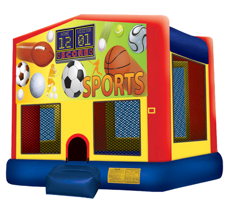 Sports Bounce House Rentals in Austin Texas from Austin Bounce House Rentals