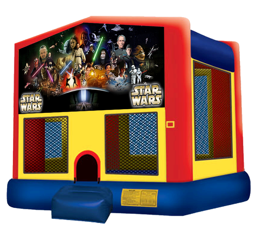 Star Wars Bounce House Rentals in Austin Texas from Austin Bounce House Rentals