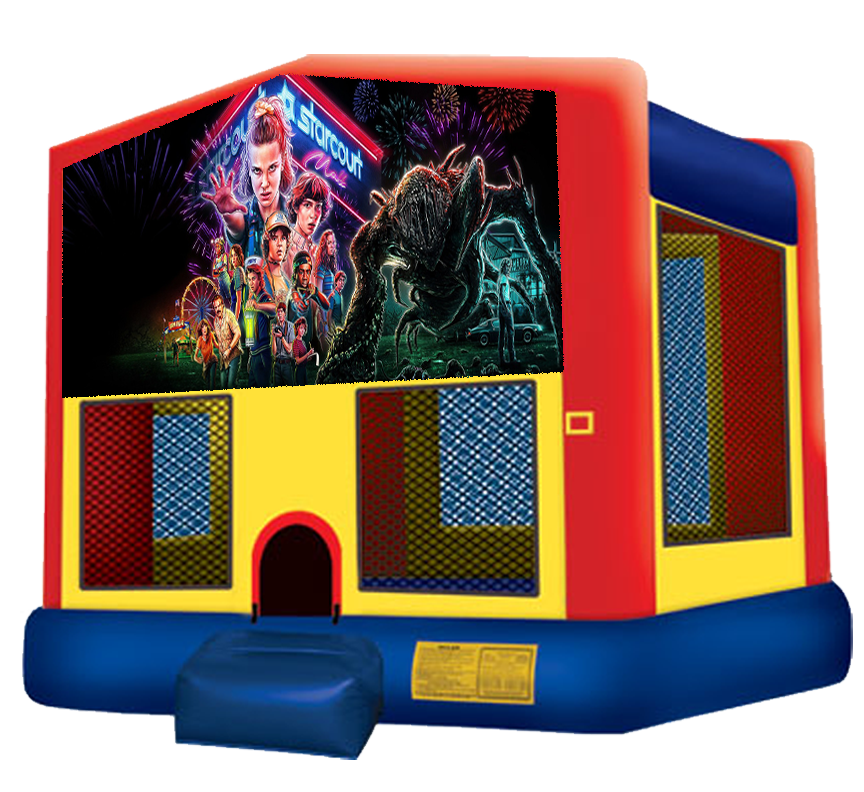 Stranger Things Bounce House Rentals in Austin Texas from Austin Bounce House Rentals