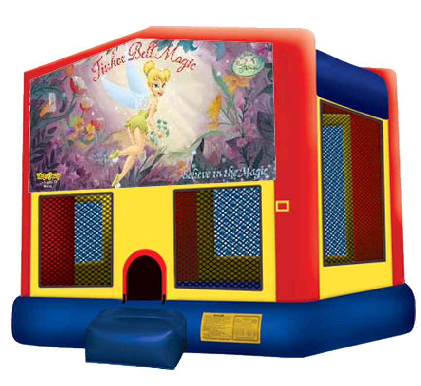 Tinkerbell Bounce House Rentals in Austin Texas from Austin Bounce House Rentals