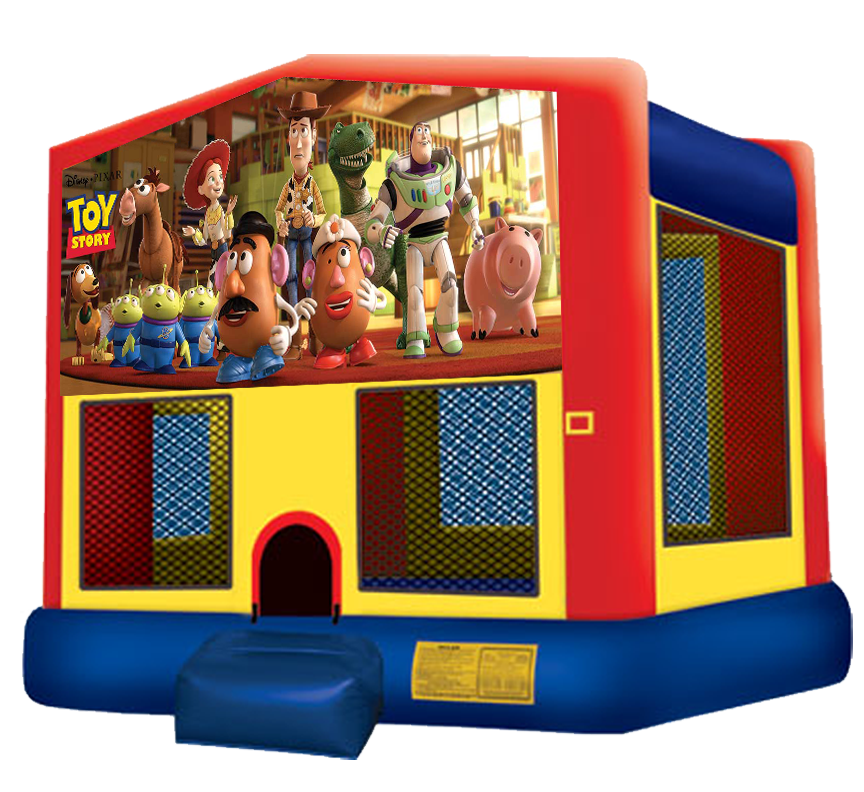 Toy Story Bounce House rentals from Austin Bounce House Rentals in Austin Texas