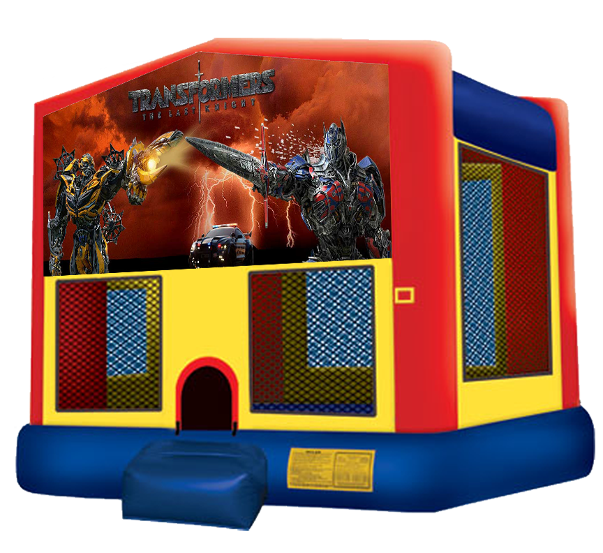 Transformers Bounce House Rentals in Austin Texas from Austin Bounce House Rentals