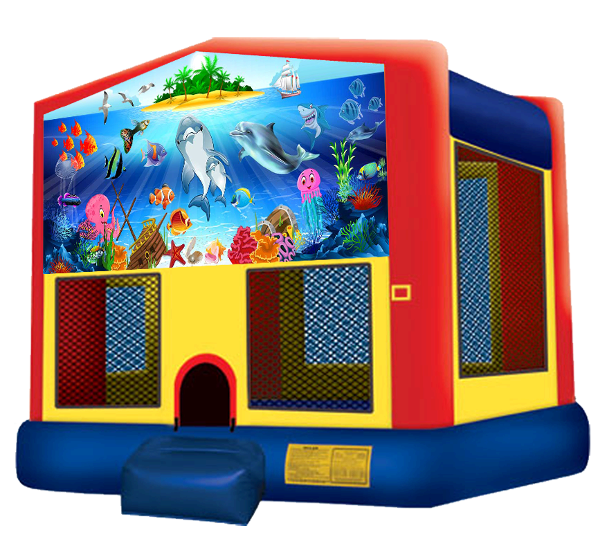 Under the Sea Bounce House Rentals in Austin Texas from Austin Bounce House Rentals