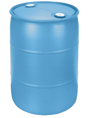55 Gallon Water Barrel for securing inflatables from Austin Bounce House Rentals