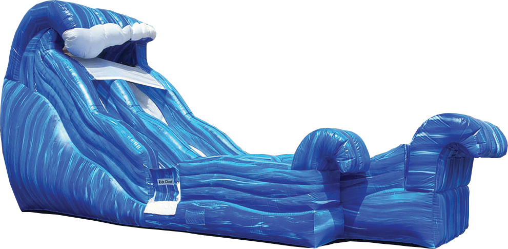 Wild Wave Slide rental from Austin Bounce House Rentals in Austin Texas