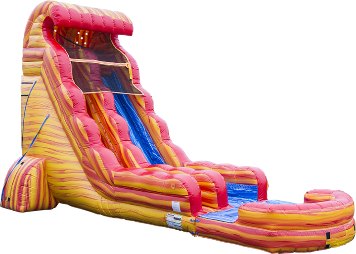 Blazing Tides Water Slide Main Image