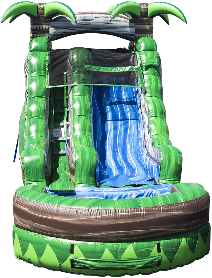 Rainforest Water Slide front