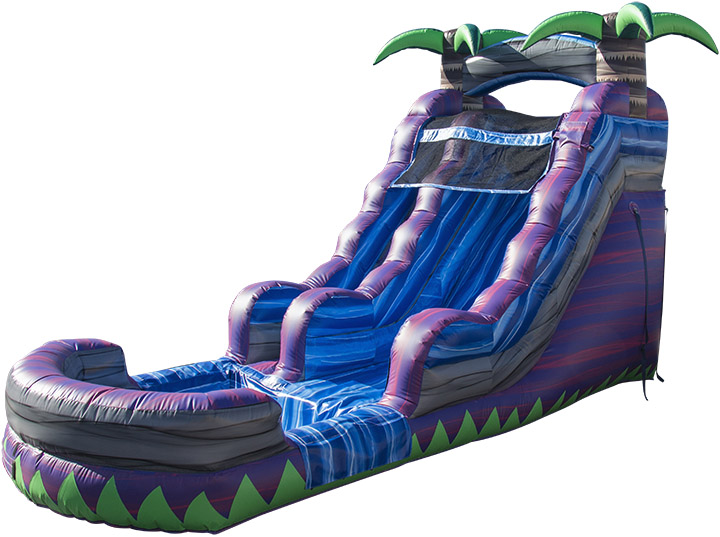 Purple Crush Water Slide reverse view