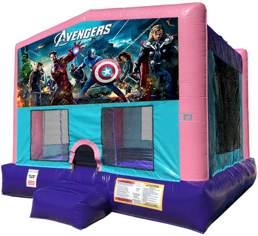 Avengers Bouncer - Pink Edition