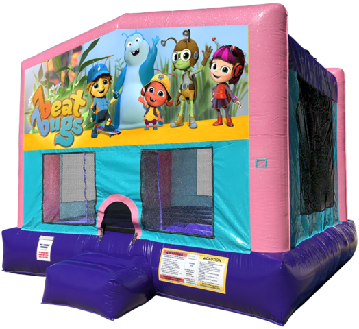 Beat Bugs Bouncer - Pink Edition