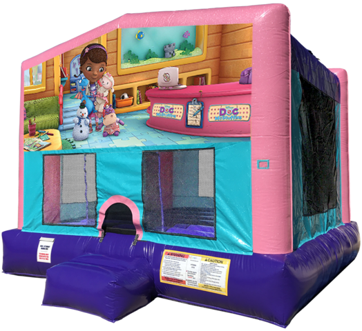 Doc McStuffins Bouncer - Pink Edition