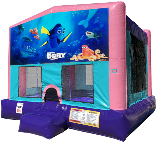 Finding Dory Bouncer - Pink Edition