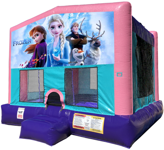 Frozen 2 Bouncer - Pink Edition