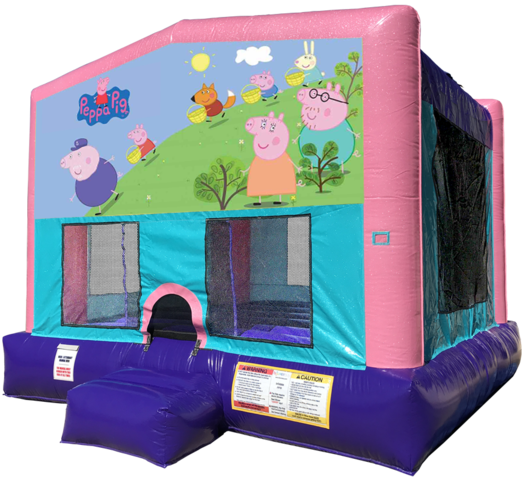 Peppa Pig Bouncer - PInk Edition