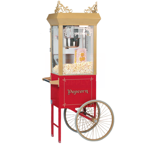 Whiz Bang Old Fashioned Popcorn Cart