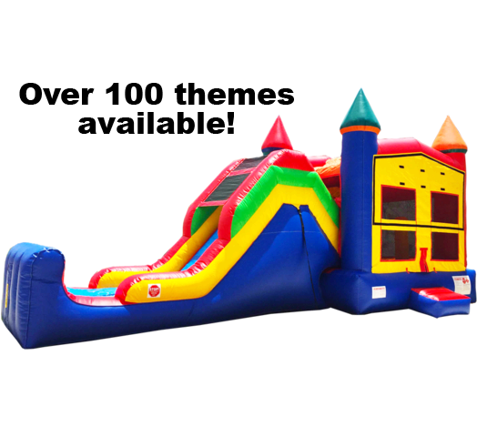 Super Combo 5-in-1 (Themed) Water Slide