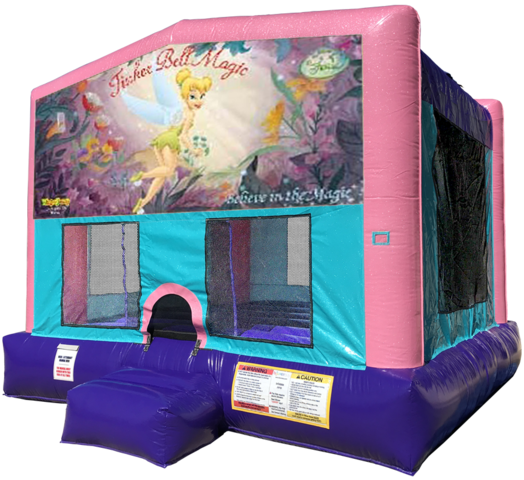 Tinkerbell Bouncer - Pink Edition