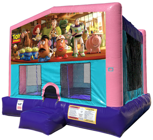 Toy Story Bouncer - Pink Edition