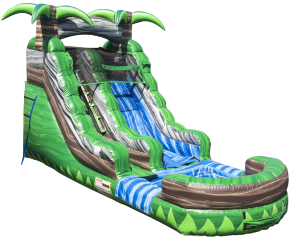 Rainforest Slide (Dry)