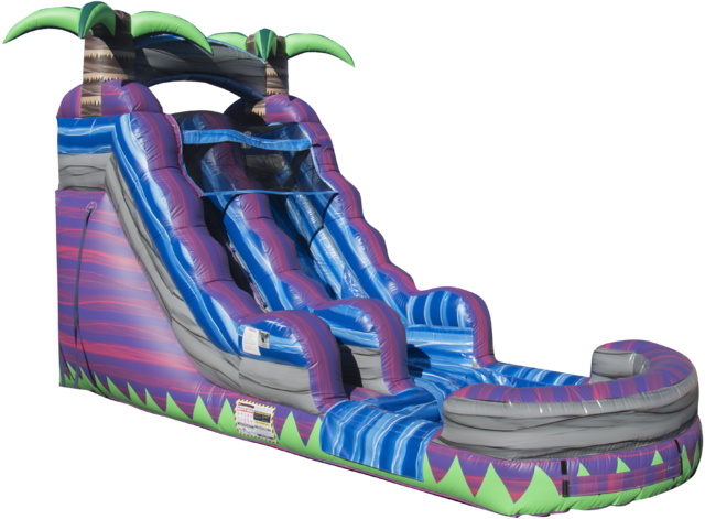 Purple Crush Water Slide