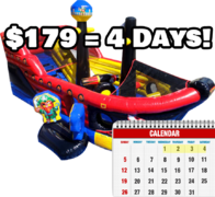 Lil' Pirates Fun Ship - 4 Day Rental