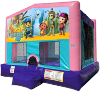 Beat Bugs Bouncer - Sparkly Pink Edition