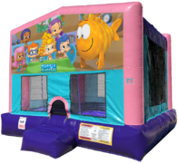 Bubble Guppies Bouncer - Sparkly Pink Edition