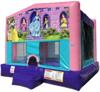 Disney Princess Bouncer - Sparkly Pink Edition