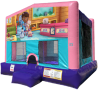 Doc McStuffins Bouncer - Sparkly Pink Edition